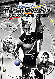 FLASH GORDON - THE COMPLETE SERIES - DVD - REGION 2 UK