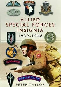 Allied Special Forces Insignia, Peter Taylor