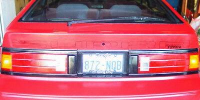 1984-1986 Mk Ii Toyota Supra Rear Billboard Banner Decal A60 Turbo Mk2