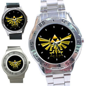 Brand New Triforce Logo The Legend of Zelda Unisex Wrist ...