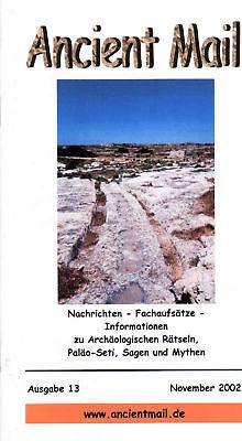 ANCIENT MAIL Nr.13  Spuren außerirdischer Besucher in den Bergen Südtirols