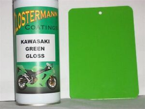 Clostermann Aerosol Kawasaki Lime Green Spray Paint 7F Gloss Finish Cellulose 7F
