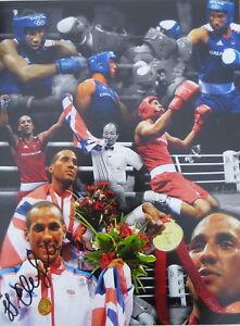 James-Degale-Signed-16-x12-Boxing-Autograph-AFTAL-Dealer