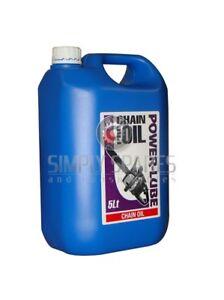 Chainsaw Chain & Bar Blade Oil 5 Litre:Pro Quality Suits Stihl Husqvarna Echo