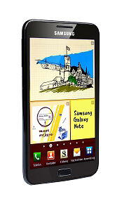 Samsung  Galaxy Note - 16 GB - Black - Smartphone