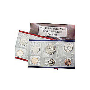 1996 US Mint Uncirculated Coin Set