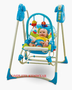 NEW FISHER PRICE SMART STAGES 3 IN 1 SWING