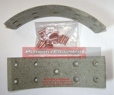 70276950 Brake Shoe Lining W Rivets For Allis Chalmers Tractor D17 Wd45 70231633