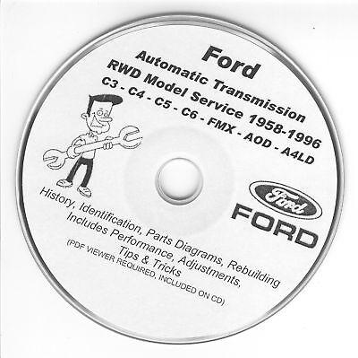 Ford C3 C4 C5 C6 Aod A4ld Fmx Cruiseomatic Rebuild
