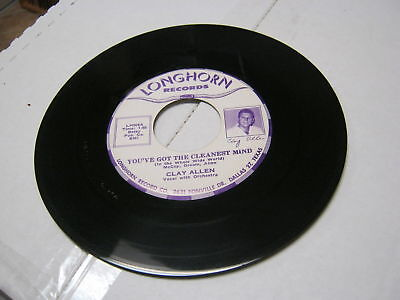 Clay Allen I Can't Stop The Blues/You've Got The 45 RPM
