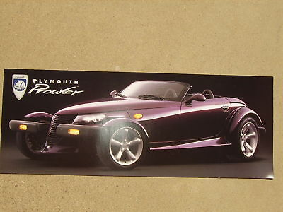 1997 PLYMOUTH PROWLER HOT ROD SALES BROCHURE