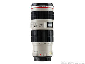 Canon EF 70-200 mm F/4 L IS USM Lens