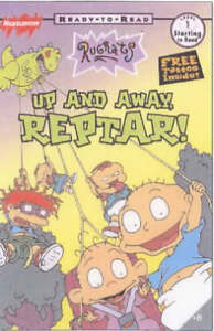 Rugrats-Up-and-Away-Reptar-Ready-to-Read-ACCEPTABLE-Book