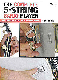 Tony Trischka - The Complete 5-String Banjo Player (DVD, 2011)