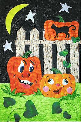 Pumpkin Love Applque Quilt Pattern by Quilt Woman