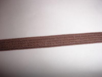 elastisches Band 0,20€/m in hellbraun 10 Meter M15