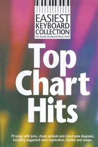Easiest-Keyboard-Collection-Top-Chart-Hits-Wise-Publications-New-Condition