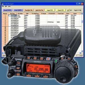 Software for Yaesu FT-817, FT-847, FT-857 & FT-897