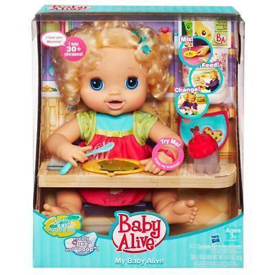 Baby Alive My Baby Alive Doll Blonde Hair Food Bottle Ebay