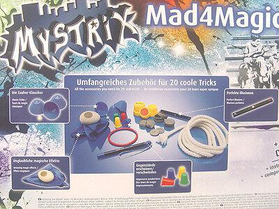 Zauber Trick Set m. DVD - Mysterix 22010 - neu