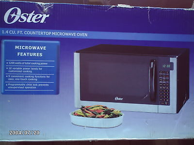 Oster OGG61403 Countertop 1.4 cu ft Microwave ...