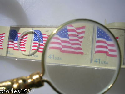Magnifying Glass 1 1/4 Real Glass 5 Power No Reserve
