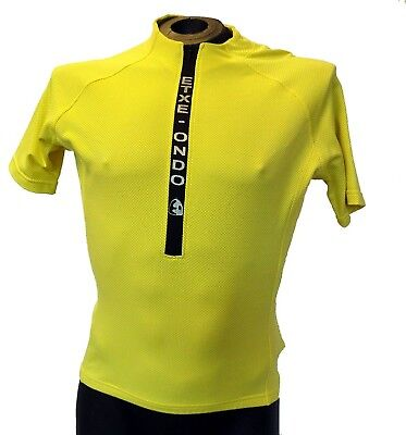 Etxeondo Meersburg S/sleeve Cycling Jersey Road Yellow
