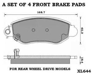 TRANSIT-RWD-260-280-300-330-350-430-FRONT-BRAKE-PADS