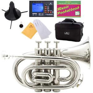 Cecilio-PT-280N-Nickel-Plated-Bb-Pocket-Trumpet-Tuner
