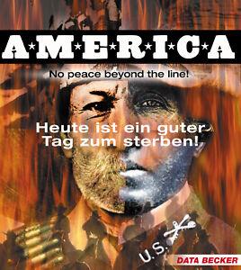 America - No Peace Beyond The Line (PC, 2000) Jewel Case - neuwertig