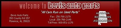 Bevis Used Auto Parts