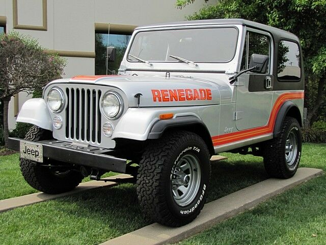 Jeep Renegade CJ-7 New Paint, Rebuilt Engine and Trans.