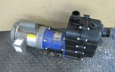 Iwaki Self-priming Magnet Pump 1hp 1 Hp Smd-401cv6u-d W. Baldor Vl3509