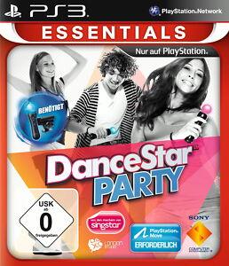 DanceStar Party -- Essentials (Sony PlayStation 3, 2012) -  NEU