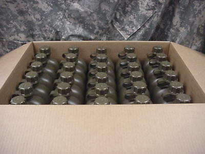 CASE OF 60 US MILITARY 1 QUART PLASTIC CANTEEN OD GREEN