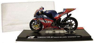 Ixo/altaya Yamaha 'spiderman' Motogp 2004 - M Melandri 1/24 Scale