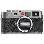 Leica M9 18.0 MP Digital SLR Camera - Steel gray (Body Only)