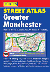 Philip's Street Atlas Greater Manchester by Octopus Publishing Group (Paperback,