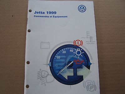 1999 Vw Jetta Owners Manual Parts Service French