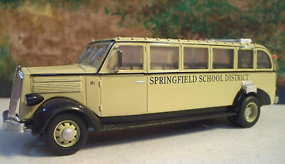 "New In Box  1/48 1936 White 706 Bus ""Springfield School District"""