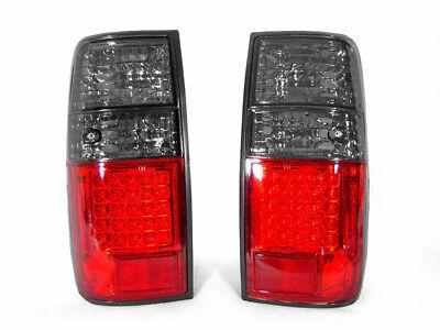 RED & SMOKE DEPO - 1991-1997 TOYOTA LAND CRUISER FJ80 REAR LED TAIL LIGHTS NEW