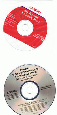 Compaq Presario Enhancements For Xp & My Presario Cd's