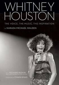 WHITNEY HOUSTON: The Voice, Music, Inspiration, Narada Michael Walden, HB, NEW!
