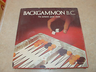 Backgammon B.c. Game By Gamut Of Games-vintage-70's?
