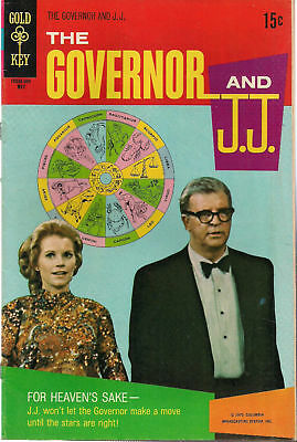 THE GOVERNOR AND J.J. #2 (1970) Gold Key Comics TV show