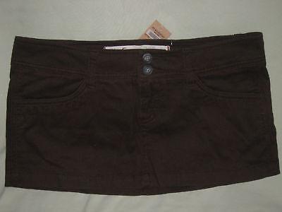 Hollister Co Dark Brown Chino Mini Skirt Juniors 3