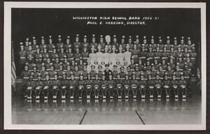 RP-Postcard-Washington-PA-High-School-Band-view-1951