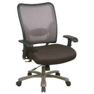 ESPRESSO MESH BIG AND TALL OFFICE CHAIR
