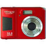 VistaQuest VQ-1030T 9.0 MP Digital Camera - Red