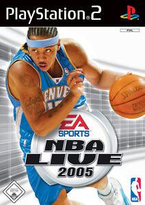 NBA Live 2005 PS2 Playstation 2